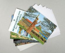 Pack of 8 Northumberland Notecards.